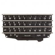 For BlackBerry Q10 QWERTY Keypad ,Black
