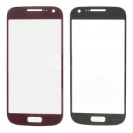 Front Len Screen Glass Replacement for Samsung i9190 Galaxy S4 mini - Red