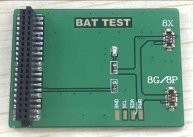 Small Board For 8/8Plus/X Series Battery Reset Maintenance Testing Device Tester(Use For CPR2016111401)