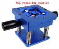 Reballing BGA Station with Handle 90mm x 90mm Stencils Template Holder Jig