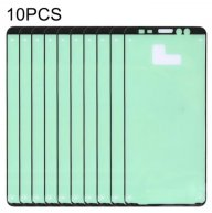 10 PCS Front Housing Adhesive for Galaxy A8+ (2018)/A730