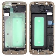 For Samsung Galaxy J730 Front Housing LCD Frame Bezel Plate(Gold)
