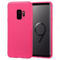 GOOSPERY STYLE LUX Shockproof Soft TPU Case for Galaxy S9/S9+(Magenta)