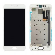 For Meizu Pro 6 LCD Screen + Touch Screen Digitizer Assembly with Frame(White)