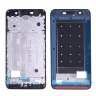For Huawei Enjoy 5 Front Housing LCD Frame Bezel Plate(Black)