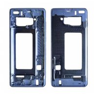 Front Housing LCD Frame Bezel Plate for Samsung Galaxy S10+(Blue)