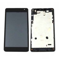 COMPLETE SCREEN ASSEMBLY WITH BEZEL FOR MICROSOFT LUMIA 535 DUAL SIM -2C VERSION