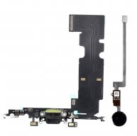 New Charging Dock Flex Cable with Home Button Return Solution for iPhone 8 Plus