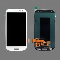 For Samsung Galaxy S 3 III I9300 I535 I747 L710 T999 LCD Assembly with Touch Screen Digitizer (OEM) - White