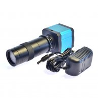 14MP HDMI USB Ultra HD Industry Video Microscope Camera 8X digital zoom 720p Video output+Camera lens