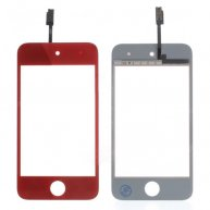 Red High Quality Digitizer Touch Screen Repair Parts for iPod Touch 4 4th 4G
