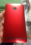 Back Cover For HTC One M7 -Red