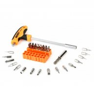JAKEMY JM-6105 32-in-1 Screwdriver Bit Demolished Home Repair Tool Kit