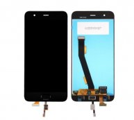 For Xiaomi Mi 6 LCD Screen + Touch Screen Digitizer Assembly with Home Button Flex Cable(Black)