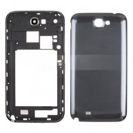 Grey Full Housing for Samsung I317 Galaxy Note 2 AT&T