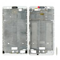 Front Housing LCD Frame Bezel Plate for Huawei Ascend Mate 7(White)