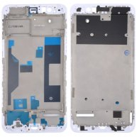 For OPPO R11 Plus Front Housing LCD Frame Bezel Plate(White)