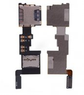 Sim Card Holder and Memory Card Holder for Samsung Galaxy Note IV N9109W/ N9108V(REV 0.7)