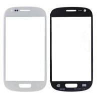 White OEM Replacement Outer Front Glass Lens for Samsung i8190 Galaxy S iii Mini
