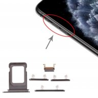SIM Card Tray + Side Key for iPhone 11 Pro