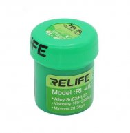 RELIFE No-Clean RL-402 Soldering Paste Sn63/Pb67 183°C Solder Paste for iPhone Phone BGA Soldering Repair Tools
