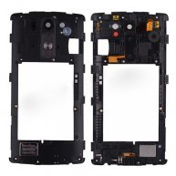 Backplate Rear Housing with Camera Lens and Ringer for LG G3 mini D722/ D722V/ D724/ D722K/ D728/ D725/ LS885-Black