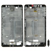 Front Housing LCD Frame Bezel Plate for Huawei Ascend Mate 7(Black)