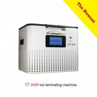 The newest 17 inch automatic lcd oca vacuum laminating machine for Tablet mobile phone lcd refurbishment