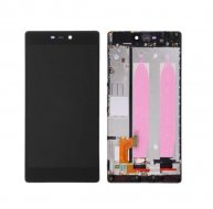 For Huawei P8 LCD Screen and Digitizer Full Assembly with Frame -BLACK