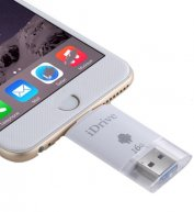 16GB 2 in 1 Micro USB 2.0 & 8 Pin USB iDrive iReader Flash Memory Stick for iPhone 6 & 6s, iPhone 6 Plus & 6s Plus, Samsung Gala