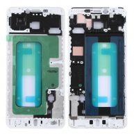 Front Housing LCD Frame Bezel for Galaxy C7 (White)