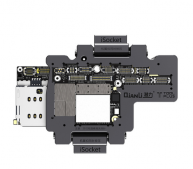 QIANLI iSocket motherboard test fixture For IPHONE X double-deck motherboard Function Tester