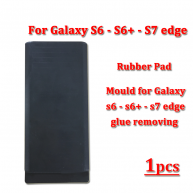 Silicone Rubber pad For Samsung Galaxy S7 Edge / S6 edge / S6 edge plus glue removing