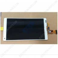 Complete Screen Assembly For sony Xperia ZL L35H -White