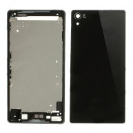 Complete Housing Cover Faceplate OEM Part for Sony Xperia Z2 D6503 D6502 D6543-Black