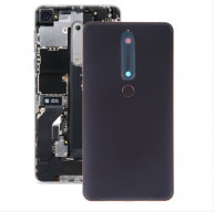 Battery Back Cover with Camera Lens & Side Keys & Fingerprint Sensor for Nokia 6.1 / 6 (2018) / 6 (2nd Gen)