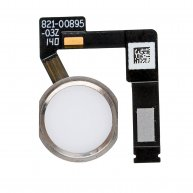 "FOR IPAD PRO 12.9"" 2ND GEN HOME BUTTON ASSEMBLY WITH FLEX CABLE RIBBON - SILVER"