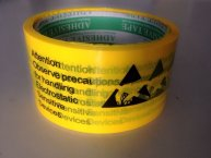 Anti-Static Warning Labels Stickers floor tape 75MM*50M