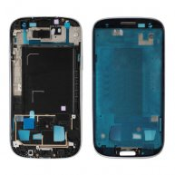 Front Housing Frame Bezel Plate for Samsung Galaxy S3 I9305 - Silver