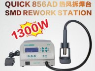 QUICK 856AD Best Spot Genuine Original crack QUICK 856AD 1300w Hot Air Rework Station