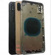 Battery Cover Back Housing Glass with Middle Frame For iPhone XS