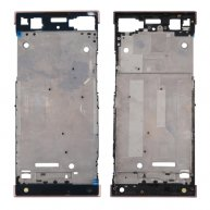 For Sony Xperia XA1 Front Housing LCD Frame Bezel Plate(Rose Gold)