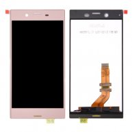 For Sony Xperia XZ OR LCD Screen + Original Touch Screen Digitizer Assembly(Pink)