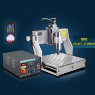 IC CNC Router Polishing Machine 3040,2.2KW CNC Milling And EngravingMachine for iphone Chips repair