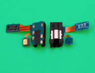 5PCS/Lots For Samsung Galaxy J6 2018/J600 Earphone Audio Jack Headphone Microphone Flex Cable Audio jack flex