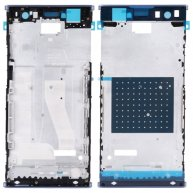For Sony Xperia XA2 Ultra Front Housing LCD Frame Bezel Plate(Blue)