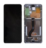 For Samsung Galaxy S20+ LCD Display +Touch Screen Digitizer Assembly with Frame