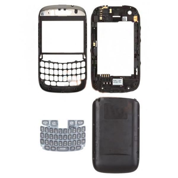 discount For BlackBerry Curve 9320 Full Housing Cover-Black