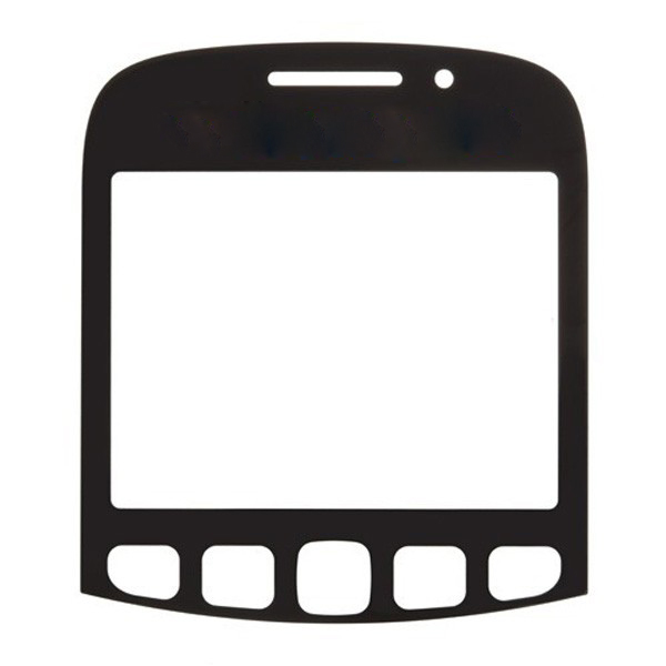 discount Glass Lens For BlackBerry Curve 9320 -Black