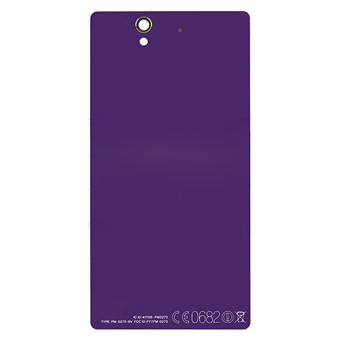 discount Purple  Battery Housing Back Cover for Sony Xperia Z C6603 L36h